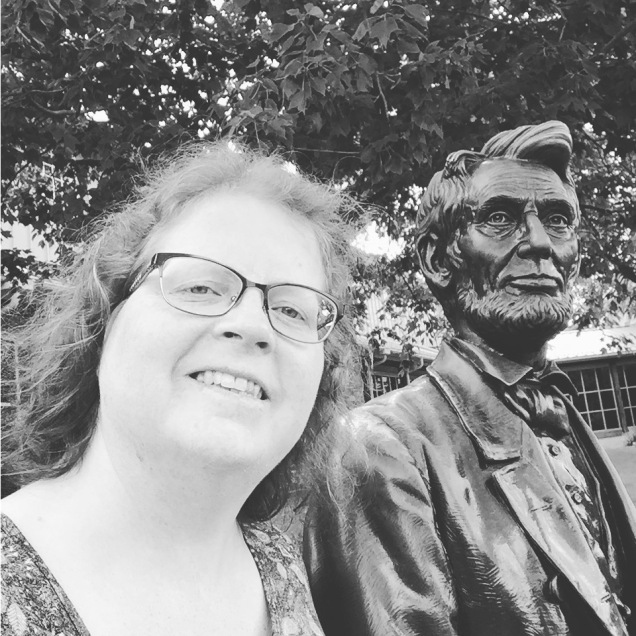 SelfieWithLincolnAtGettysburg